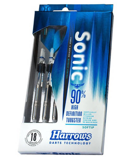 Rzutki Harrows SONIC 90% Softip