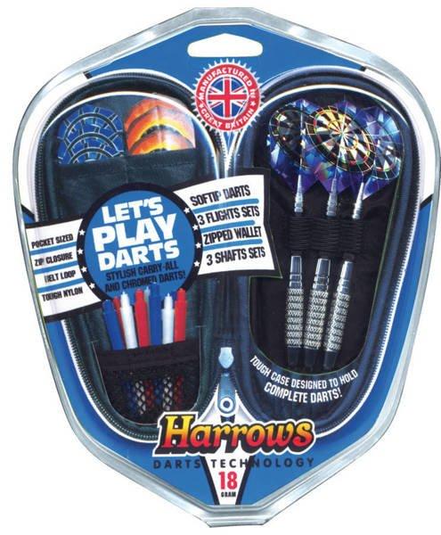 Zestaw Harrows Softip - Lets Play Darts Gift Set